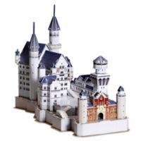 Neuschwanstein Castle 99-Piece 3D Puzzle