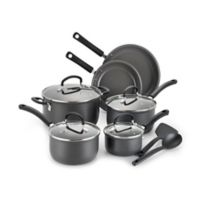 T-Fal® Precision Ceramic Hard Anodized 12-Piece Cookware Set
