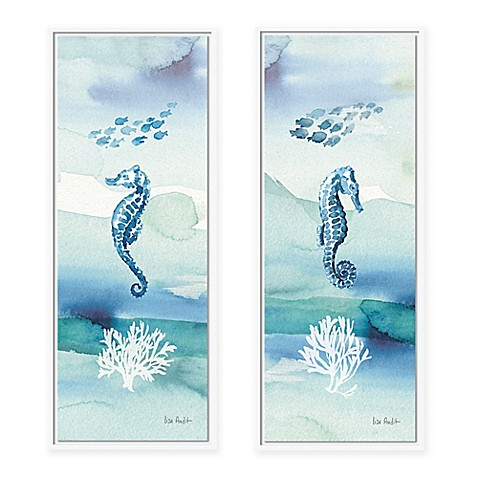 Sea Life Vii Framed Canvas Wall Art Bed Bath Amp Beyond