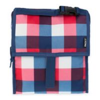 PackIt® Freezable Lunch Bag in Buffalo Check