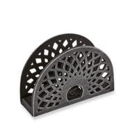 Radial Cast Iron Napkin Holder
