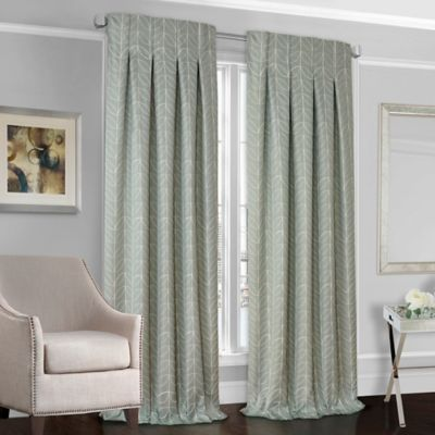 select peyton 120inch back tab window curtain panel in cream
