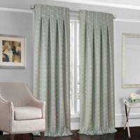 Designers' Select™ Peyton 84-Inch Back Tab Window Curtain Panel in Cream