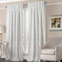 Designers' Select™ Peyton 84-Inch Back Tab Window Curtain Panel in Grey