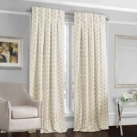 Designers' Select™ Peyton 84-Inch Back Tab Window Curtain Panel in Ivory