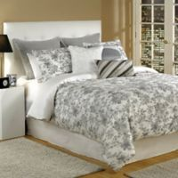Bed Inc. Kingston King Comforter Set in Grey