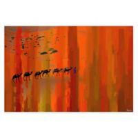 Parvez Taj Bir Anzarene 45-Inch x 30-Inch Canvas Wall Art