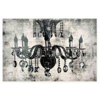 Marmont Hill Elegant Lighting 24-Inch x 16-Inch Canvas Wall Art
