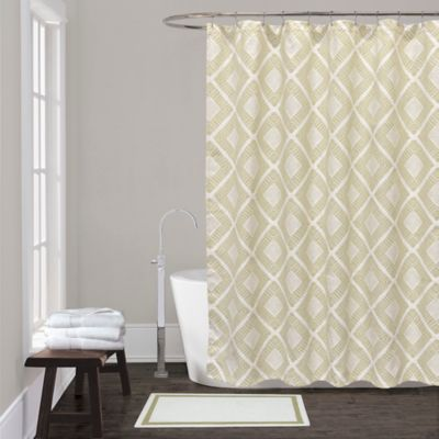 Lamont Home™ Equinox Shower Curtain In Sage