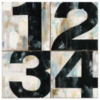 Thirstystone Dolomite Industrial Chic Numbers Coaster