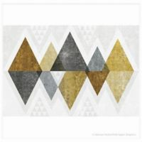Thirstystone Dolomite Individual Coaster in Mod Triangles Gold