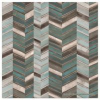 Thirstystone Dolomite Individual Coaster in Stacked Chevrons