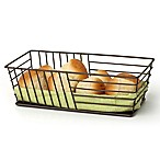 Spectrum Wright™ Steel Bread Basket in Bronze