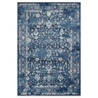 KAS Azure Blue Marrakesh 7-Foot 10-Inch x 11-Foot 2-Inch Area Rug