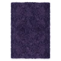 Supreme 5-Foot 3-Inch x 7-Foot 5-Inch Shag Area Rug in Violet