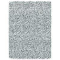 Soho 2-Foot 6-Inch x 3-Foot 9-Inch Shag Accent Rug in Grey/Blue