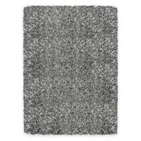 Soho 5-Foot 3-Inch x 7-Foot 6-Inch Shag Area Rug in Grey