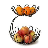 Spectrum Bloom™ Arched 2-Tier Fruit Server