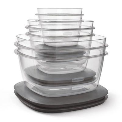 Rubbermaid® Premier 12-Piece Food Storage Set in Grey  sc 1 st  Bed Bath u0026 Beyond & Buy Rubbermaid Food Storage from Bed Bath u0026 Beyond