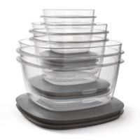 Rubbermaid® Premier 12-Piece Food Storage Set in Grey