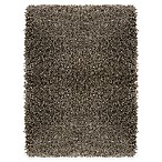 "Carpet Art Deco Cristal 7'10"" x 10'4"" Shag Area Rug in Mink"