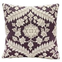 Kathy Ireland Home by Gorham Dynasty Square Throw Pillow