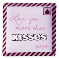 Hershey's by Fitz and Floyd® Sweet Notes More Than KISSES Square Dish in Pink