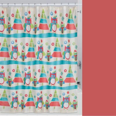 Buy Christmas Shower Curtain from Bed Bath & Beyond