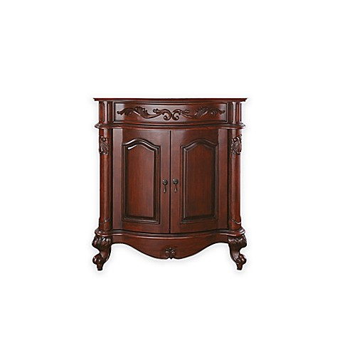 buy avanity provence 30 inch bath vanity cabinet without top and sink in antique cherry from bed For30 Inch Bathroom Vanity Without Top