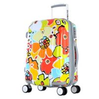 Olympia® USA Blossom II 25-Inch Hardcase Spinner Suitcase in Aqua