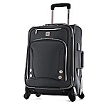 Olympia® USA Skyhawks 22-Inch 4-Wheel Carry On Spinner Suitcase in Black