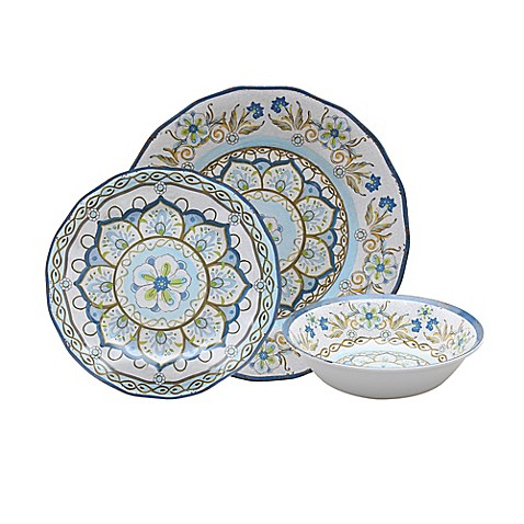 Provence Melamine Dinnerware Collection in Ivory  sc 1 st  Bed Bath \u0026 Beyond & Provence Melamine Dinnerware Collection in Ivory - Bed Bath \u0026 Beyond
