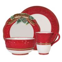 Fitz and Floyd® Yuletide Holiday 4-Piece Place Setting