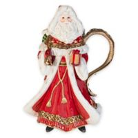 Fitz and Floyd® Yuletide Holiday Santa Pitcher