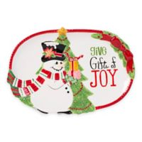 Fitz and Floyd® Top Hat Frosty Sentiment Tray
