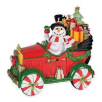 Fitz and Floyd® Top Hat Frosty Musical Car