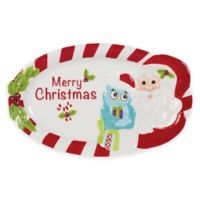 Fitz and Floyd® Holiday Hoot Sentiment Tray