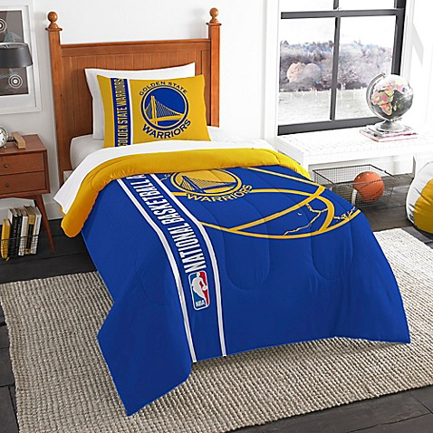 Nba Golden State Warriors Printed Twin Comforter By The