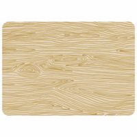 The Softer Side by Weather Guard™ 23-Inch x 36-Inch Hand Drawn Wood Grain Kitchen Mat