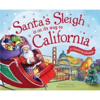 """Santa's Sleigh Is On Its Way To California"" by Eric James"