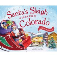 """Santa's Sleigh Is On Its Way To Colorado"" by Eric James"