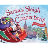 """""""Santa's Sleigh Is On Its Way To Connecticut"""" by Eric James"""