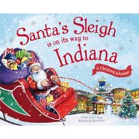 """Santa's Sleigh Is On Its Way To Indiana"" by Eric James"