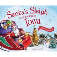 """Santa's Sleigh Is On Its Way To Iowa"" by Eric James"