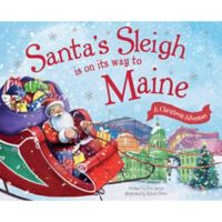 """""""Santa's Sleigh Is On Its Way To Maine"""" by Eric James"""