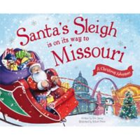 """""""Santa's Sleigh Is on Its Way To Missouri"""" by Eric James"""