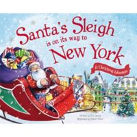 """Santa's Sleigh Is On Its Way To New York"" by Eric James"