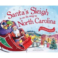 """Santa's Sleigh Is On Its Way To North Carolina"" by Eric James"