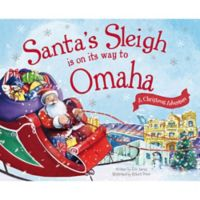"""Santa's Sleigh Is On Its Way To Omaha"" by Eric James"