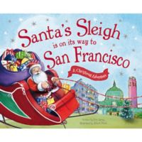 """""""Santa's Sleigh Is On Its Way To San Francisco"""" by Eric James"""